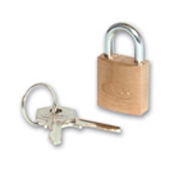 ABUS 65/50 BRASS 50MM PADLOCK KEYED ALIKE KA 504
