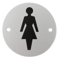 FEMALE SYMBOL SIGN 75mm SAA