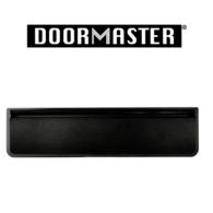 """UAP DOORMASTER BLACK SLEEVED LETTERPLATE 10"""" DMB1048B"""
