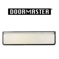 """UAP DOORMASTER SILVER SLEEVED LETTERPLATE 10"""" DMB1048SA"""