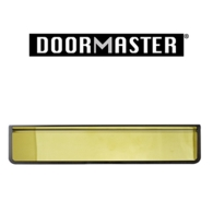 """UAP DOORMASTER GOLD SLEEVED LETTERPLATE 12"""" DMB1248G"""
