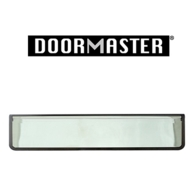 """UAP DOORMASTER CHROME SLEEVED LETTERPLATE 12"""" DMB1248PS"""