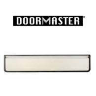 """UAP DOORMASTER SILVER SLEEVED LETTERPLATE 12"""" DMB1248SA"""