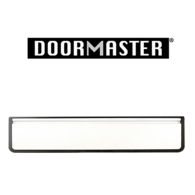"""UAP DOORMASTER WHITE SLEEVED LETTERPLATE 12"""" DMB1248W"""