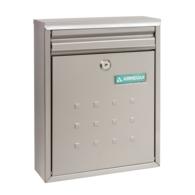 ARREGUI DIME STAINLESS STEEL POST BOX