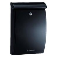 ARREGUI MININOVA BLACK PLASTIC POST BOX