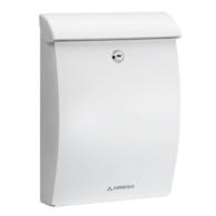 ARREGUI MININOVA WHITE PLASTIC POST BOX