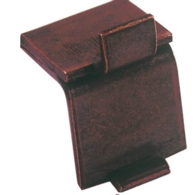 DOUBLE FLAT STUD FOR BOOKCASE STRIP BRONZE 283.01.110