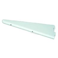 TWIN SLOT SHELF BRACKET WHITE 365mm TGS.B365