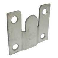 SINGLE FLUSH MOUNT WALL PLATE FOR CABINET HANGERS 290.19.900