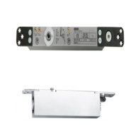 GEZE BOXER 2-4 CONCEALED CLOSER SILVER BODY ONLY