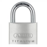 ABUS 64TI/60 TITALIUM OPEN SHACKLE PADLOCKS