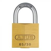 ABUS 65/30 BRASS OPEN SHACKLE PADLOCK