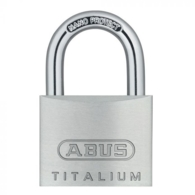 ABUS 64TI/40 TITALIUM OPEN SHACKLE PADLOCK