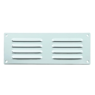 LOUVRE VENT POLISHED STAINLESS STEEL 225 x 75mm JM5630BPSS