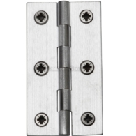 "HERITAGE BRASS HINGE 2.5"" SATIN CHROME HG99-120-SC"