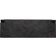 TUDOR INTERIOR LETTERFLAP BLACK IRON 256 x 84mm TC860