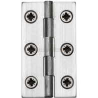 "HERITAGE BRASS HINGE 2"" SATIN CHROME HG99-115-SC"