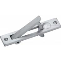POCKET DOOR EDGE PULL SATIN CHROME C1165-SC