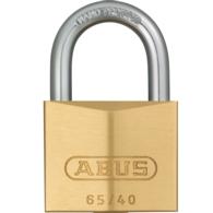 ABUS 65/40 BRASS 40MM KEYED ALIKE (405) PADLOCK