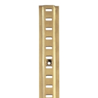 RAISED BOOKCASE STRIP 6FT ELECTRO BRASSED 283.00.510