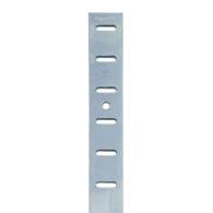FLAT BOOKCASE STRIP FLUSH FIT 6FT BRIGHT ZINC 283.00.900