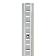 RAISED BOOKCASE STRIP 6FT BRIGHT ZINC 283.00.910