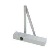 GEZE TS4000S SIZE 1-6 OVERHEAD DOOR CLOSER SILVER 102845