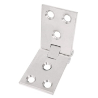 COUNTERFLAP HINGE SATIN CHROME 102 x 32mm 3927.1004