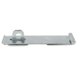"SAFETY HASP & STAPLE No.HS617 6"" ZINC HS617-0150ZP"