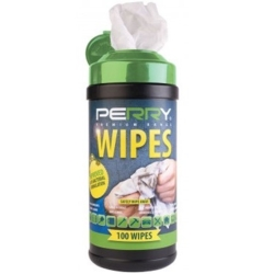 PERRY WIPES 100PC CANISTER 7600-0100BK-6