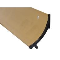 RAIN DEFLECTOR 63mm GOLD FINISH 914mm 07SR014
