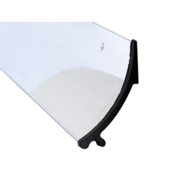 RAIN DEFLECTOR 63mm MILL FINISH 914mm 07SR014