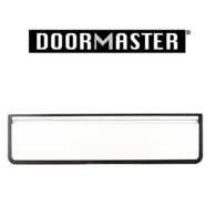 """UAP DOORMASTER WHITE SLEEVED LETTERPLATE 10"""" DMB1048W"""