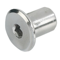 SLEEVE NUT M6x12mm BURN STEEL