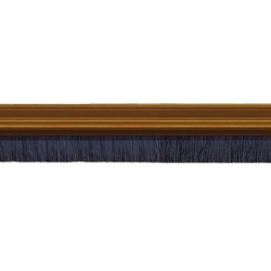 EXITEX PVC BRUSH STRIP BROWN 914mm 1.01.0032.0914.10
