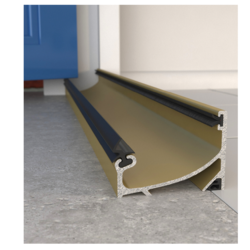 EXITEX OUTWARD OPENING SILL 1524mm GOLD 1.01.0325.1524.15
