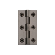 "HERITAGE BRASS HINGE 2.5"" POLISHED BRASS HG99-120-PB"