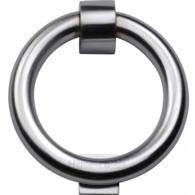 RING DOOR KNOCKER SATIN CHROME K1270-SC
