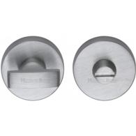 ROUND TURN & RELEASE SATIN CHROME 35mm V1018-SC
