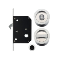 SLIDING BATHROOM DOOR SET SC FOR 35-45mm DOORS