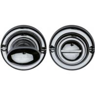 BATHROOM TURN & RELEASE POLISHED CHROME V1015-PC