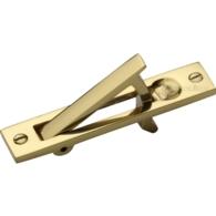 POCKET DOOR EDGE PULL POLISHED BRASS C1165-PB