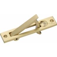 POCKET DOOR EDGE PULL SATIN BRASS C1165-SB