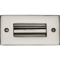 FLUSH PULL HANDLE 100mm POLISHED NICKEL C1820-4-PNF
