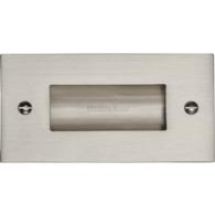 FLUSH PULL HANDLE 100mm SATIN NICKEL C1820-4-SN