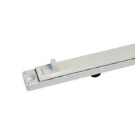 TV90 WHITE ALU VENT 250mm O/A